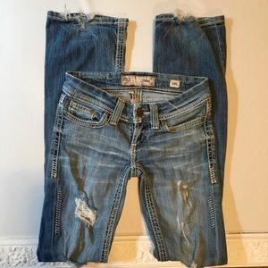 BKE denim stella bootcut jeans
